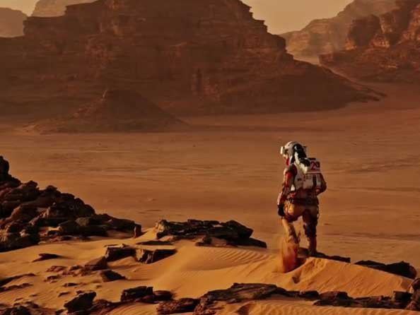 Hamilton - Video. The Martian - Behind the Scenes