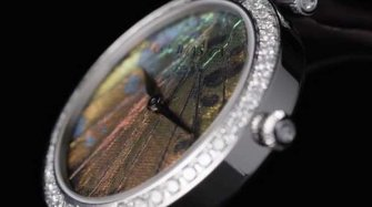Video. Premier Precious Butterfly Automatic 36mm Trends and style