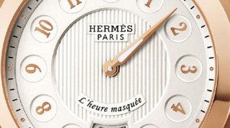 Dressage L'heure masquée, rose gold Trends and style