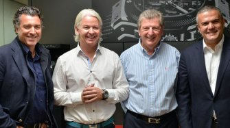 Roy Hodgson Visits The Manufacture  Brands
