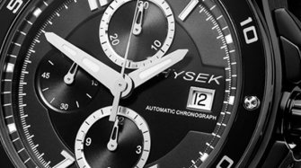 Abyss 44mm Chronograph  Black PVD  Trends and style