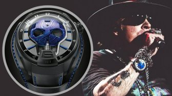 Cuff this: a new HYT Skull signed by Axl Rose