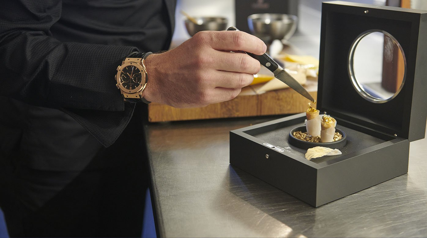 Hublot - When watchmaking meets gastronomy...