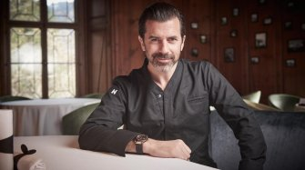 Andreas Caminada, new chef in the Hublot brigade