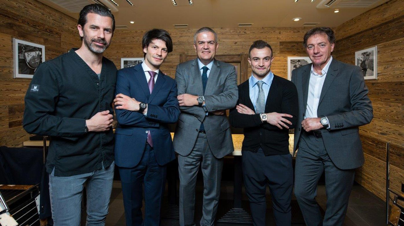 Hublot - A fusion of Swiss talents