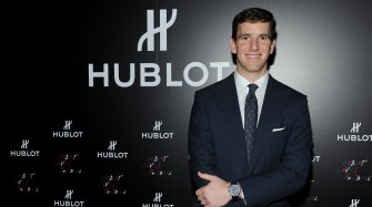 Eli Manning new Friend of the brand People and interviews