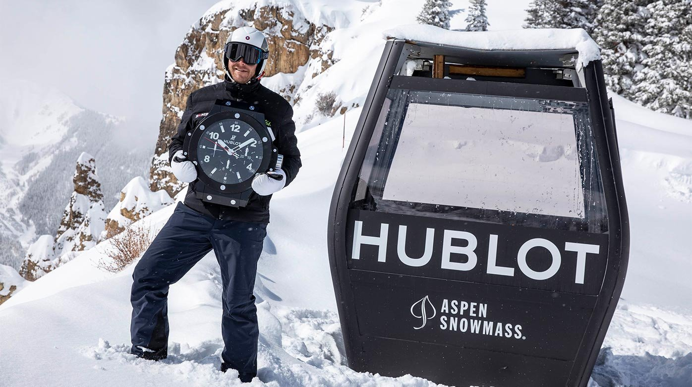 Hublot - Official Timekeeper of Aspen Snowmass ski resort