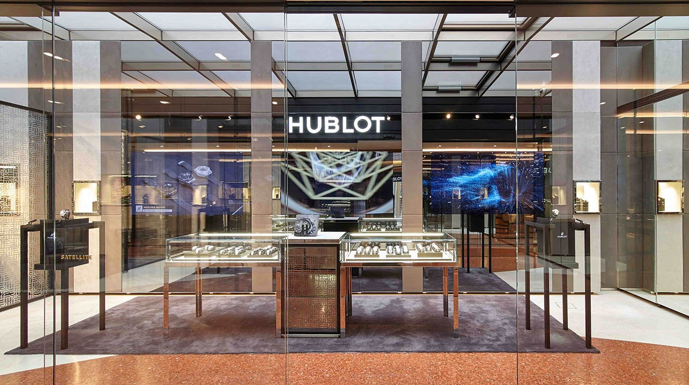 Hublot - New Boutique in Milano