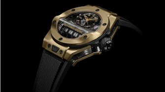 Big Bang MP-11 Magic Gold & Blue Sapphire Trends and style