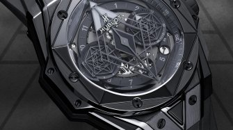 Big Bang Unico Sang Bleu II All Black