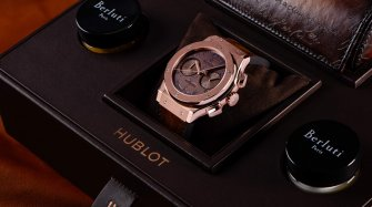 Classic Fusion Chronograph Berluti Trends and style