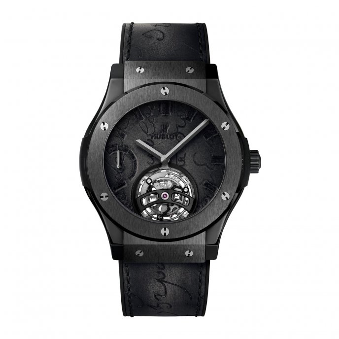 Classic Fusion Tourbillon Berluti Scritto All Black