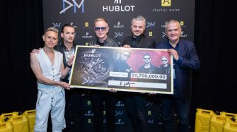 Hublot and Depeche Mode raise over $1.7 million for charity: water Auctions and vintage