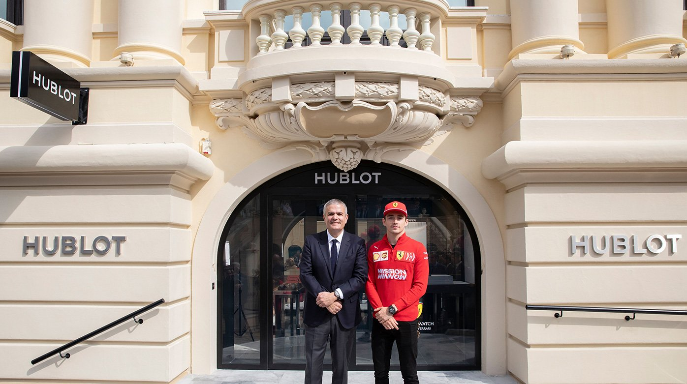 Hublot - 90 years of Ferrari and of the Monaco Grand Prix