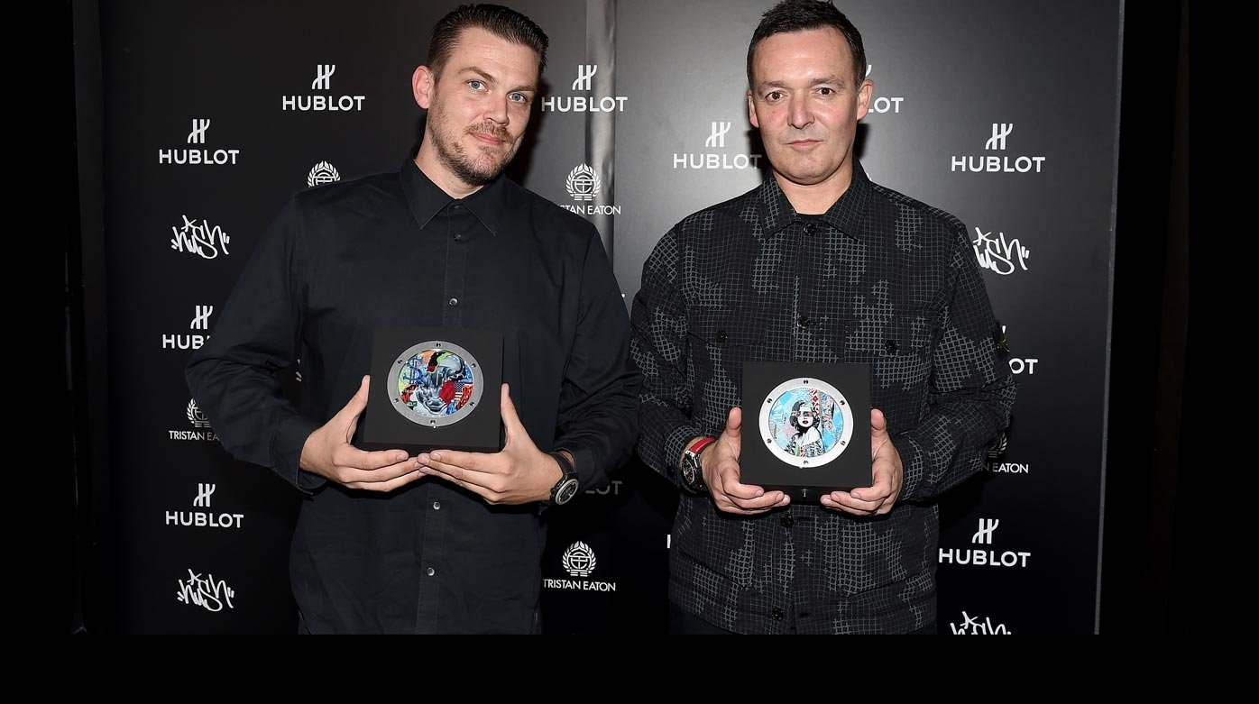 "Hublot - Hush and Tristan Eaton celebrate ""Fame vs. Fortune"""