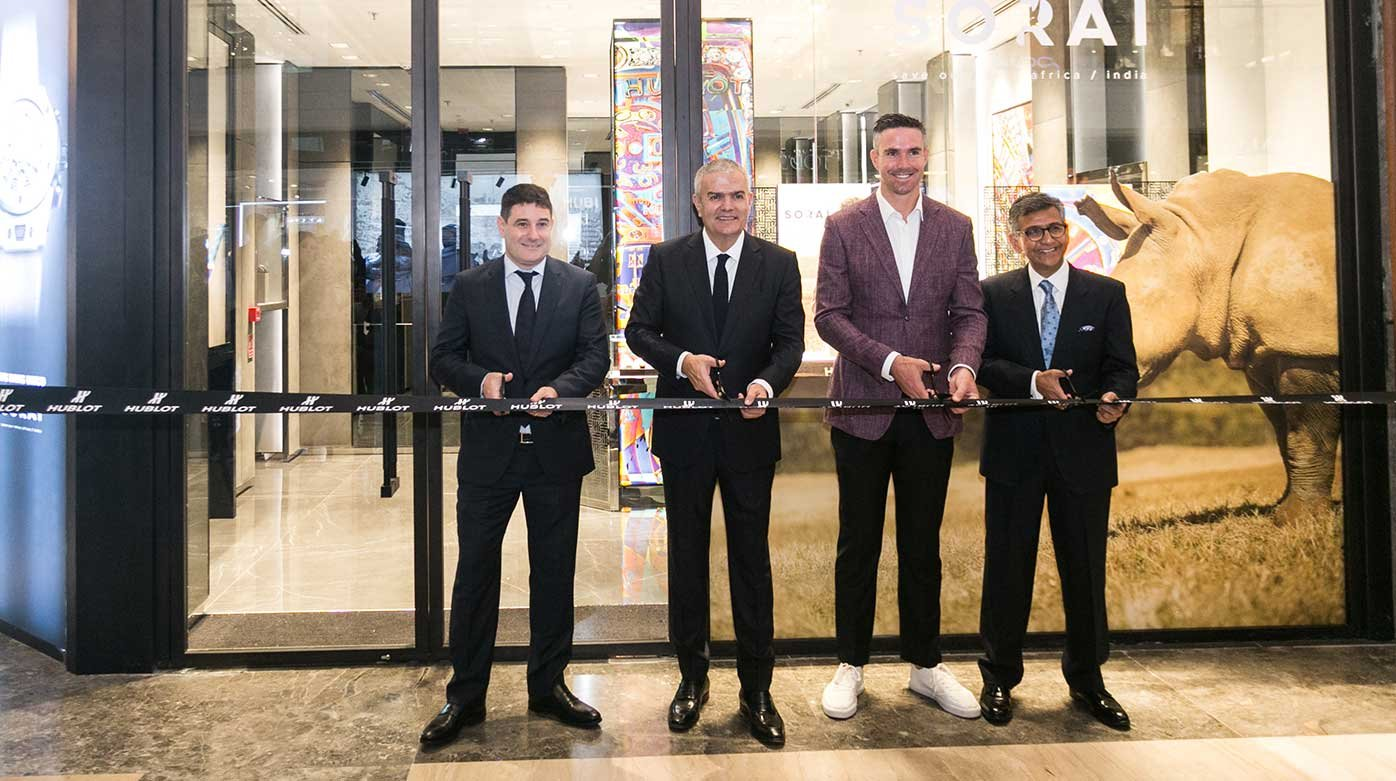 Hublot - Opening of the Brand's First Boutique in India