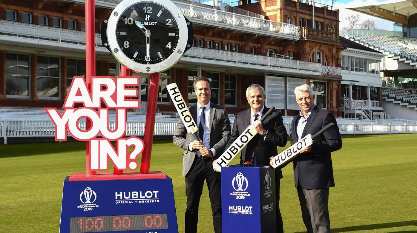 Hublot - Official Timekeeper of the ICC Cricket World Cup 2019