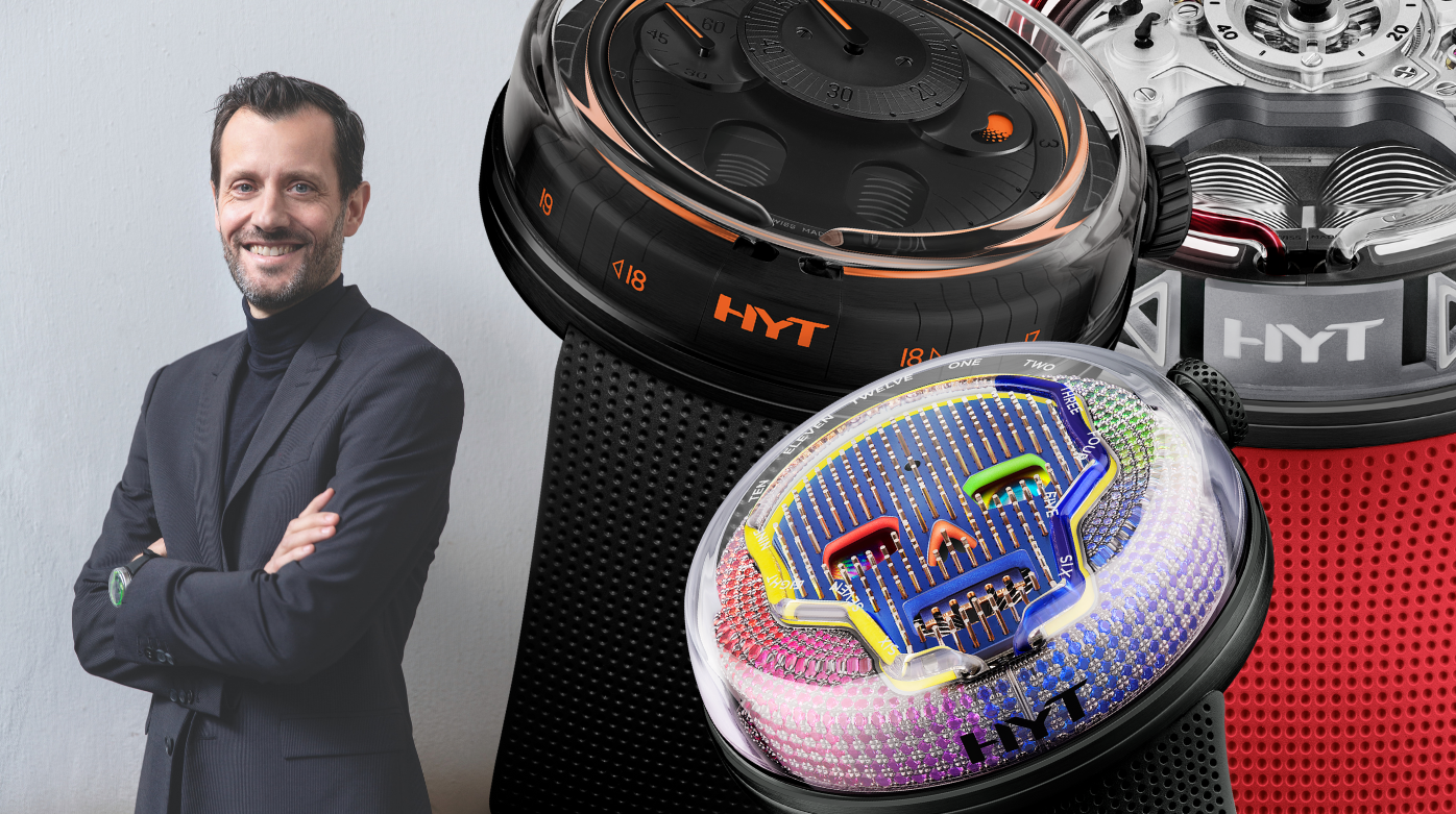 HYT - Ten Minutes With Grégory Dourde: Discover The Man Behind HYT