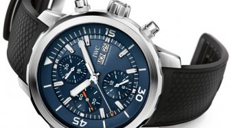 "Aquatimer Chronograph Edition ""Expedition Jacques-Yves Cousteau"" Trends and style"