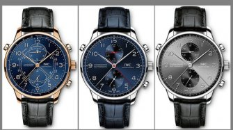 Portugieser Chronograph Rattrapante Milan, Paris and Munich