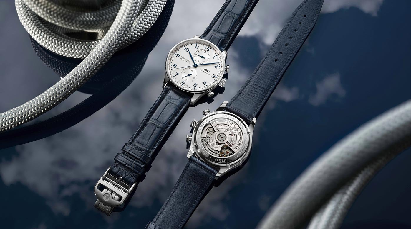 IWC Schaffhausen - Portugieser Chronograph now with in-house calibre and see-through back