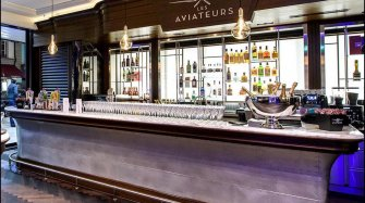 "Grand opening of Geneva's first watch bar: ""Les Aviateurs"" by IWC"