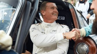 David Coulthard wins at Goodwood