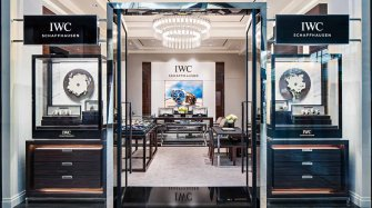 IWC Shauffhausen opens first boutique in Canada