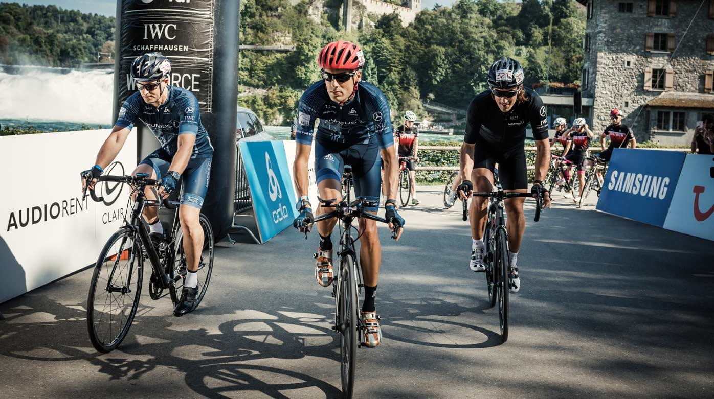 IWC Schaffhausen - Tortour, cycling  for a good cause