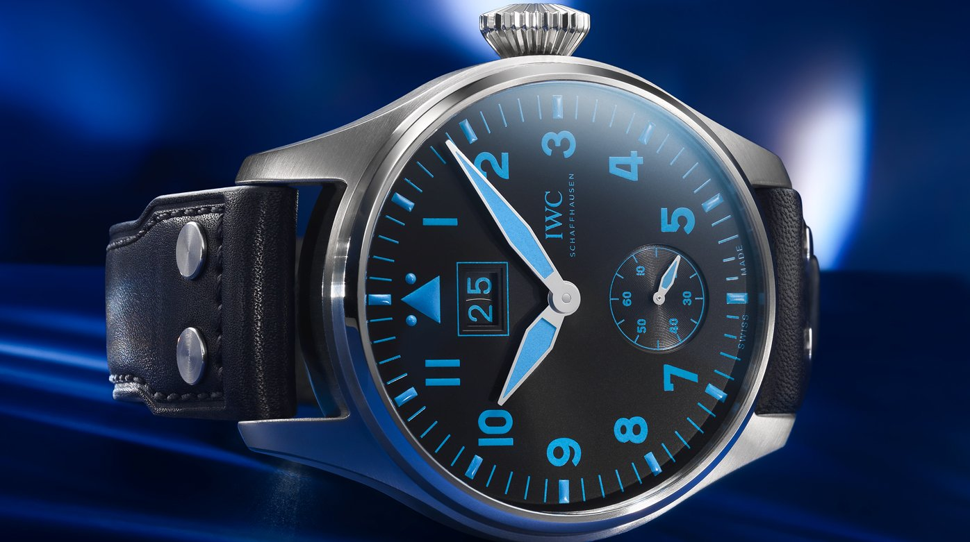 Bucherer X IWC - Big Pilot's Watch Big Date