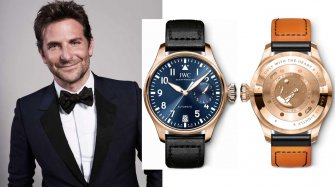 A watch worn by Bradley Cooper at auction
