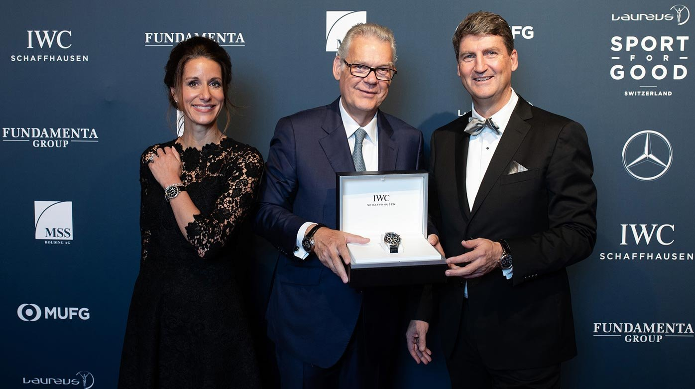 IWC Schaffhausen - Generous Donations for Laureus at Annual Charity Event