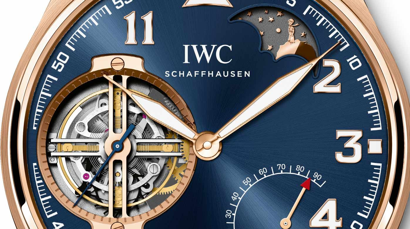 "IWC Schaffhausen - New Pilot's Watches: ""Le Petit Prince"""