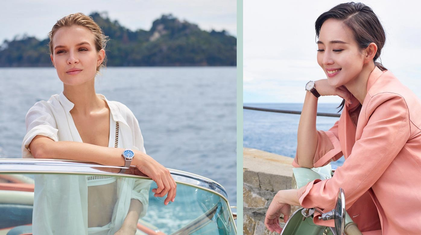 IWC Schaffhausen - Classic and glamourous Portofinos for her