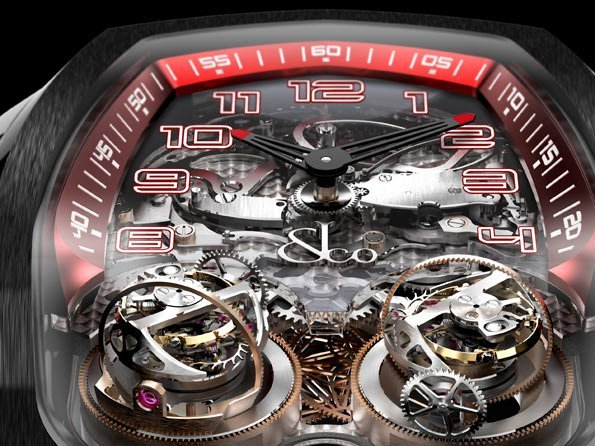 Jacob & Co.  - Twin Turbo Triple-Axis Double Tourbillon Minute Repeater