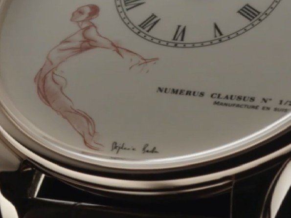 Jaquet Droz - Video. J008033200 J000000011 Seconde Deadbeat