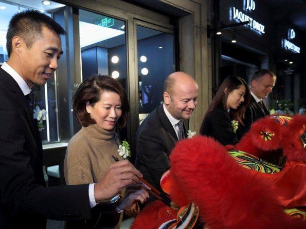 Jaquet Droz - Jaquet Droz extends its boutique in Shanghai