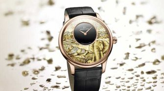 Petite Heure Minute Mosaic Elephant Trends and style