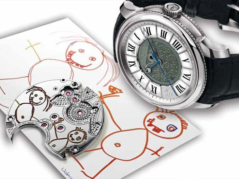 "Julien Coudray 1518 - ""Draw me a happy child"" for Only Watch"