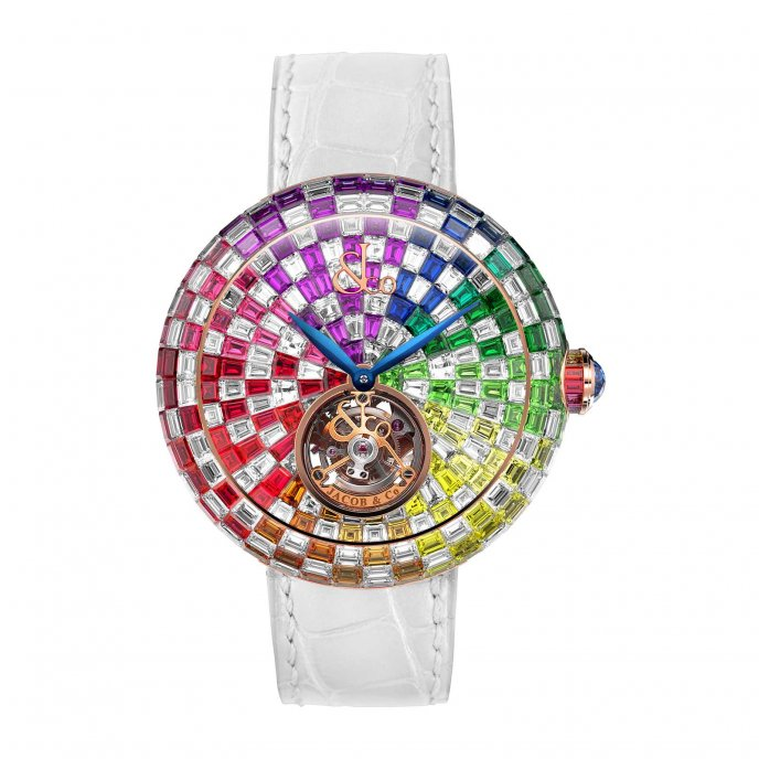 Brillant Tourbillon Arlequino