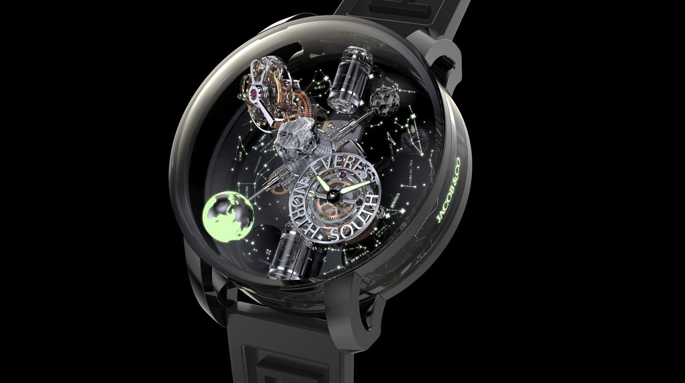 Jacob&Co - Celebrating our fragile earth introducing the Astronomia Everest