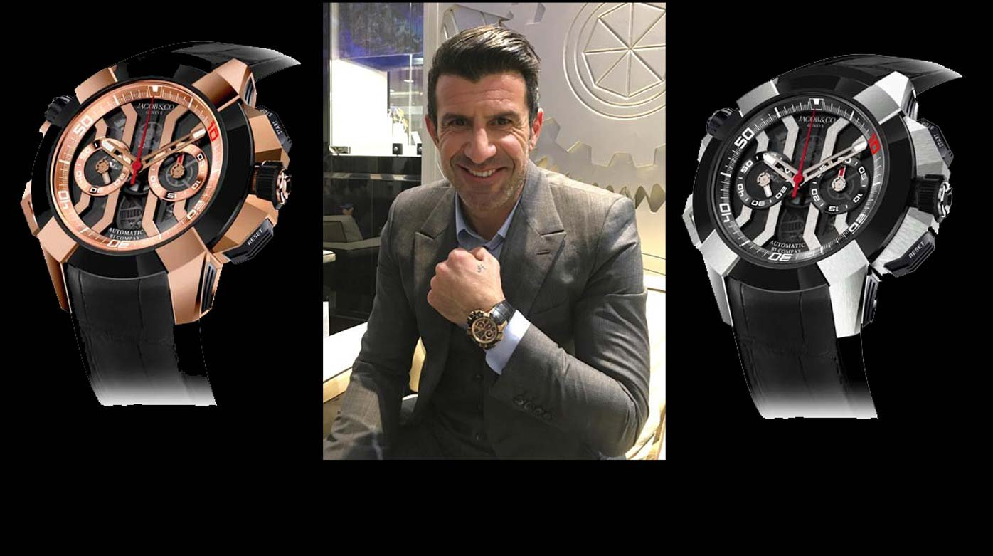 Jacob & Co. - Epic X Chrono Luis Figo limited edition