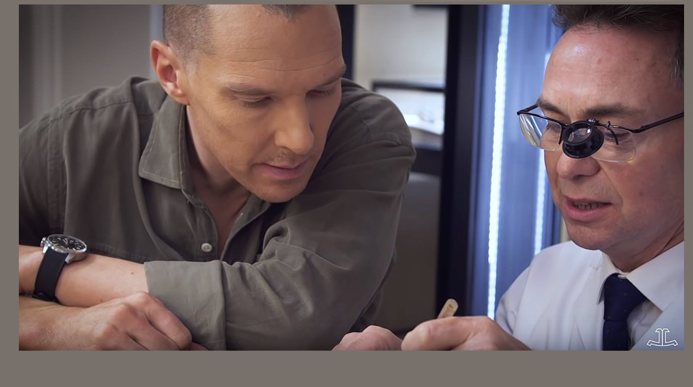 Jaeger-LeCoultre - Watchmaking Masterclass with Benedict Cumberbatch