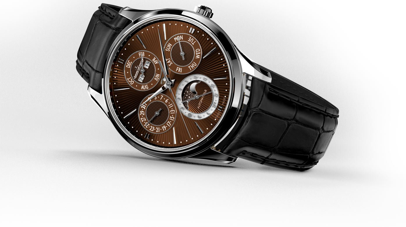Jaeger-LeCoultre - Master Ultra Thin Perpetual Enamel Chestnut