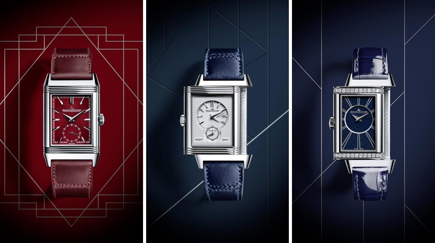 Jaeger-LeCoultre - New additions to the Reverso family