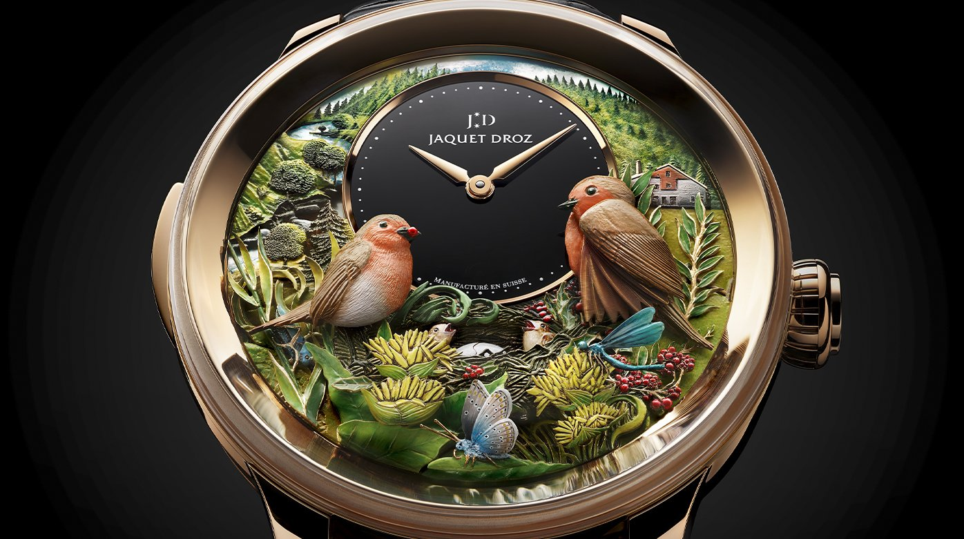 Jaquet Droz - Bird Repeater 300th Anniversary Edition
