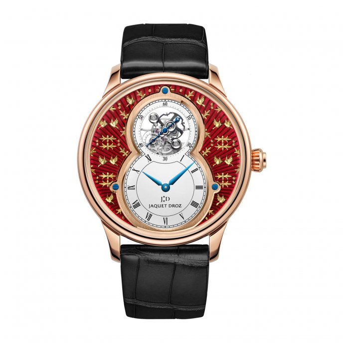 Grande Seconde Tourbillon Paillonnée