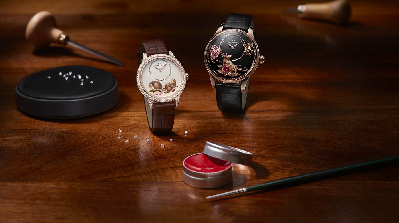 Jaquet Droz - New Chinese Zodiac Cycle with Four Creations