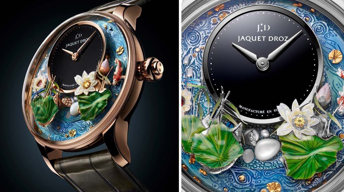 Jaquet Droz - Like a fish in water