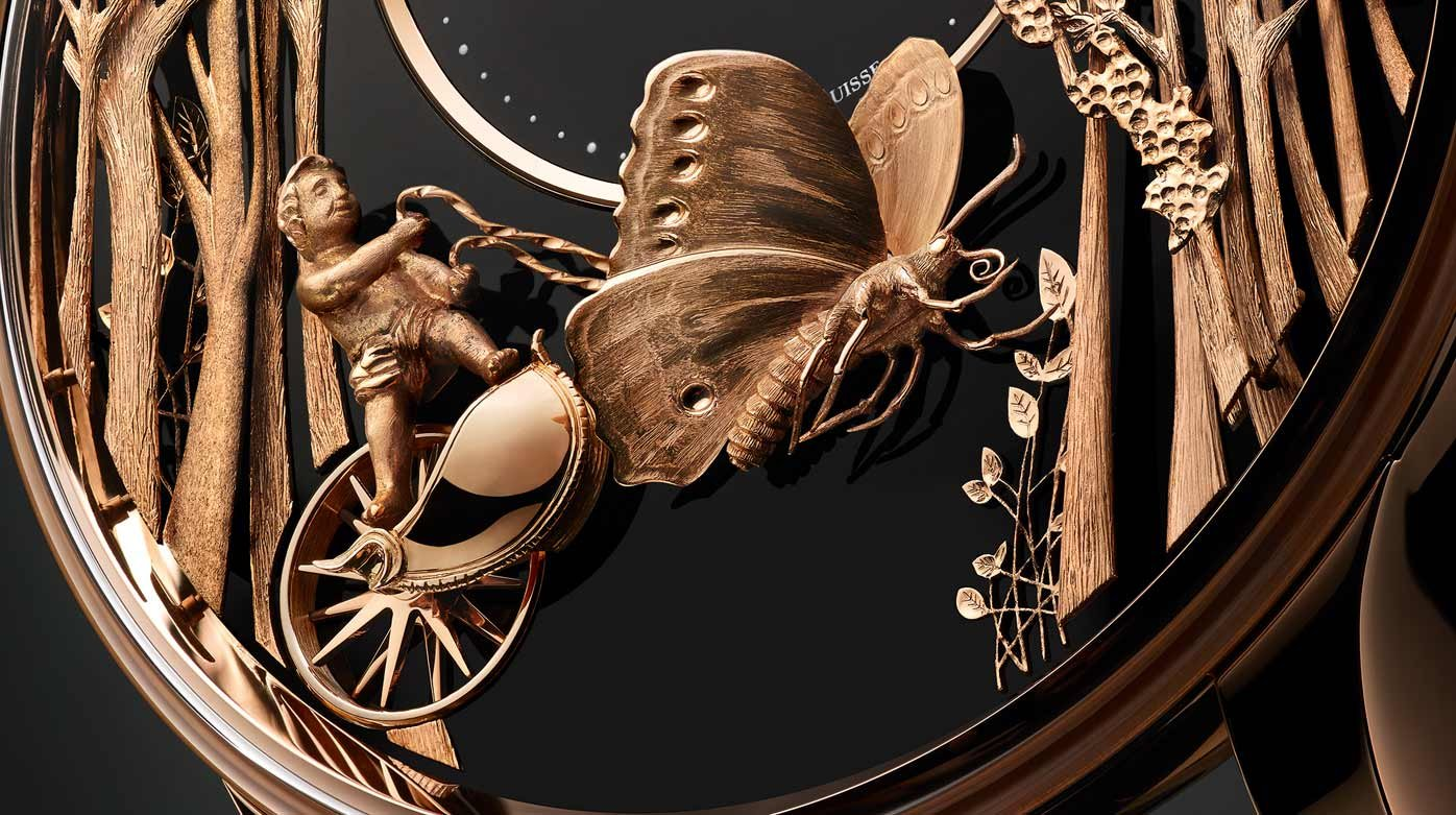 Jaquet Droz - Loving Butterfly Automaton